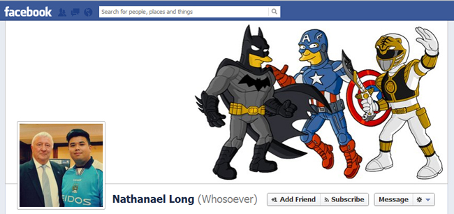 Facebook Cover By Nathanael Long