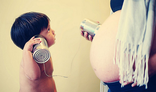 Creative Pregnancy and Newborn Photos