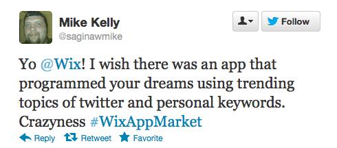 #WixAppMarket Twitter Contest