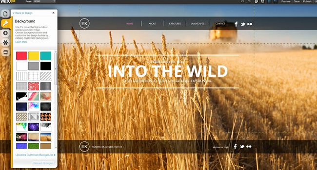 Transform a Wix Template in 3 Simple Steps