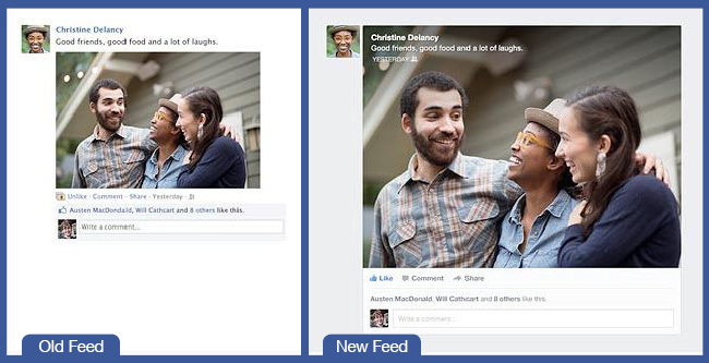 Meet Your New Feed - Facebook's Redesign Explained