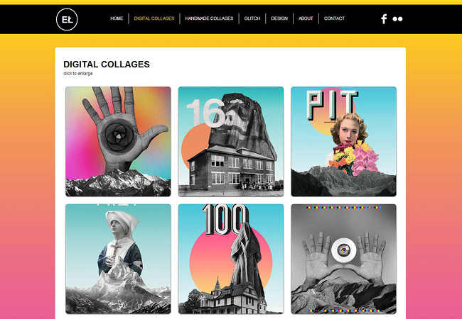 Outstanding Art Portfolios Made with Wix
