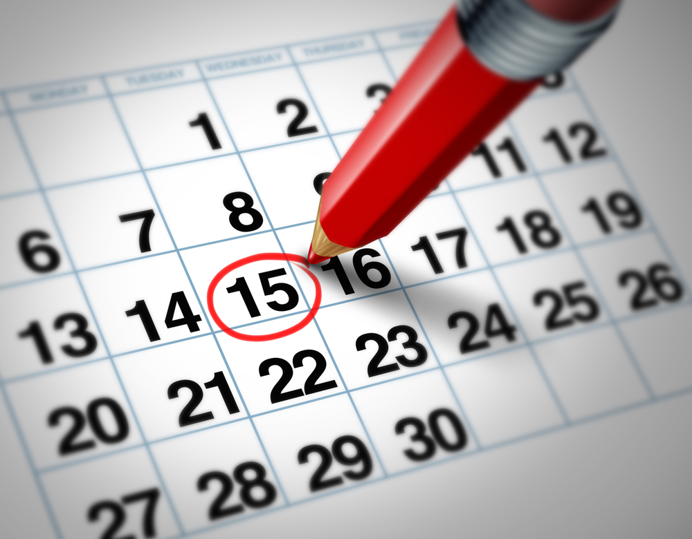 Newsletter calendar\