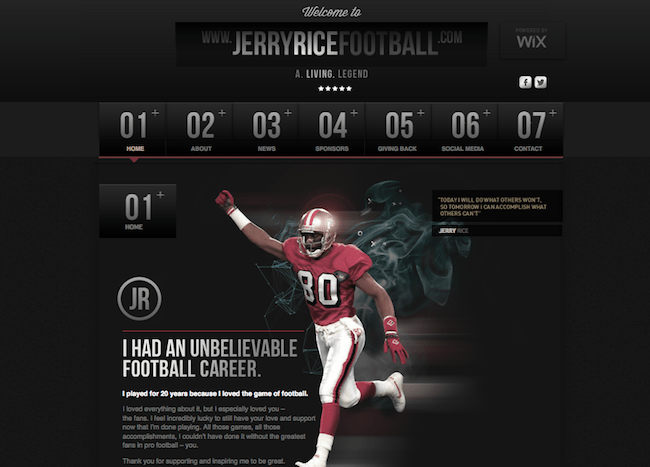 Jerry Rice Design-Off Finalists