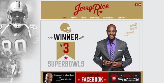 Jerry Rice Design-Off Winner