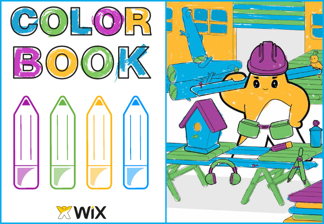 The Wix Colorbook