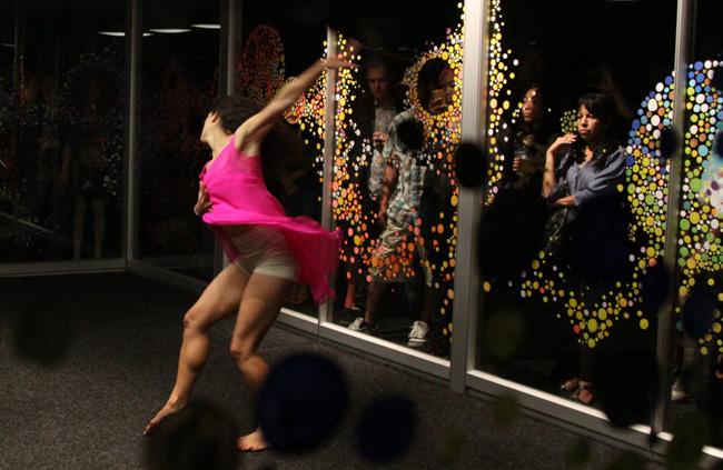 Dancer Kyla Ernst-Apler at the Wix Lounge NY