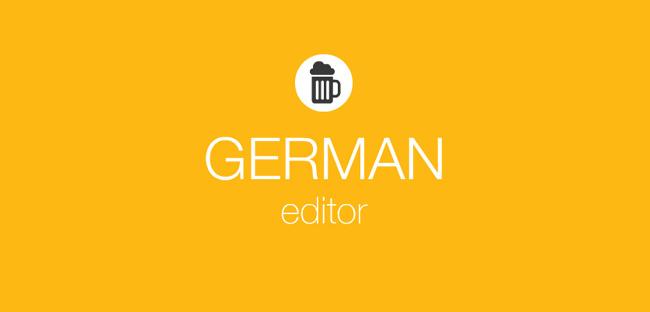 Wix German Editor