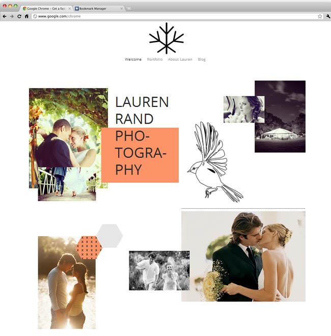 Romantic Photography Template