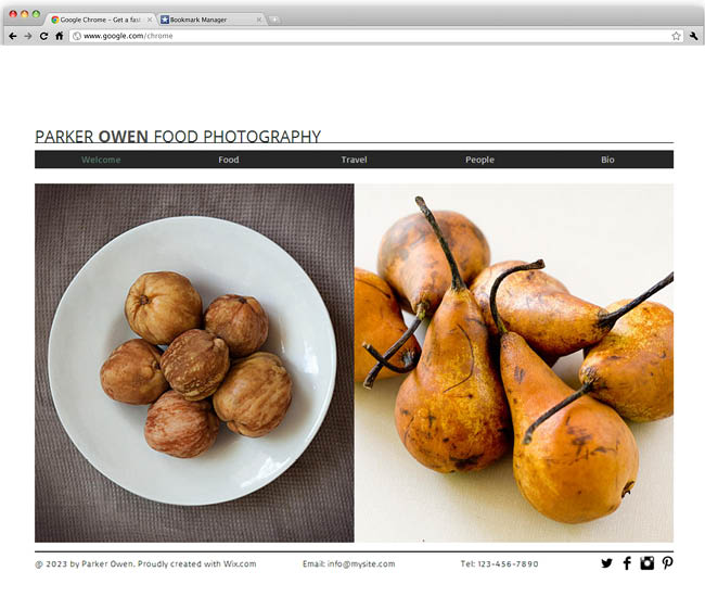 Food Photography Template