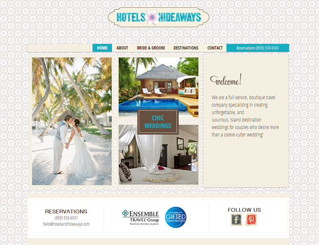 Hotels and Hideaways