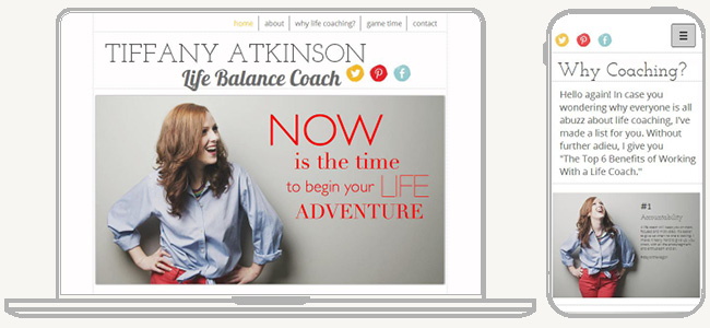 Looking for a Life Balance Coach? Check Out Tiffany Atkinson on Mobile or Web