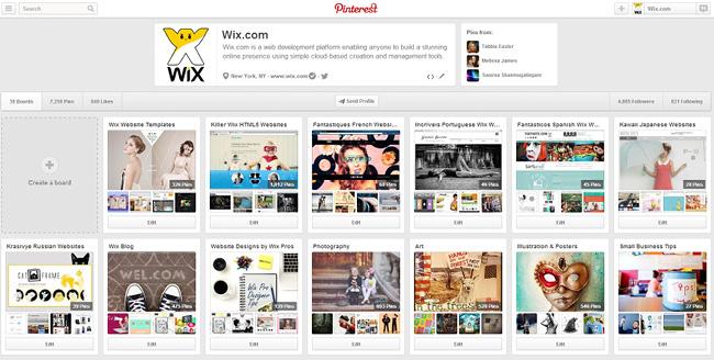 Wix on Pinterest