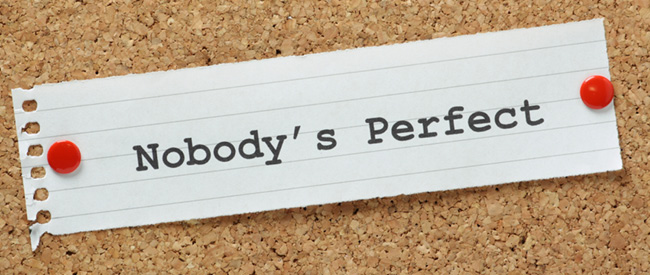 """Brush Off the Notion of a """"Perfect"""" Website"""