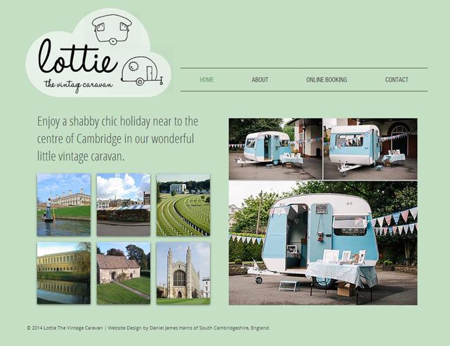 Lottie The Vintage Caravan