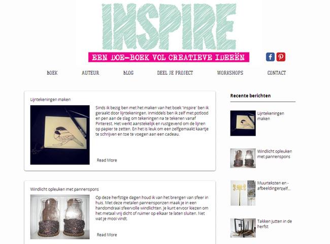 Inspire DIY Book & Blog