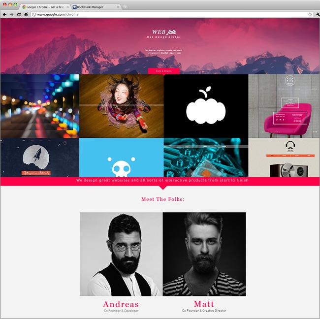 Web Design Studio Website