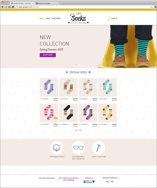 Socks Store