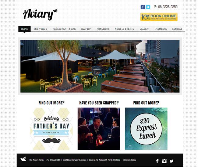 The Aviary Perth