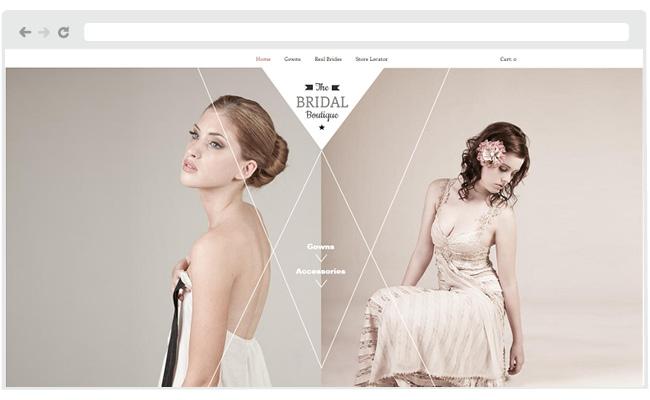 The Bridal Boutique Template