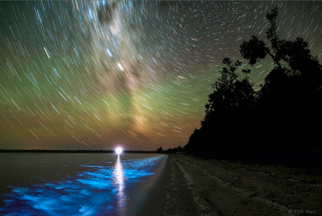 Gippsland Lakes in Victoria, Australia by Phil Hart