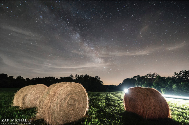 Starry Night in Indiana by Zak Michaels