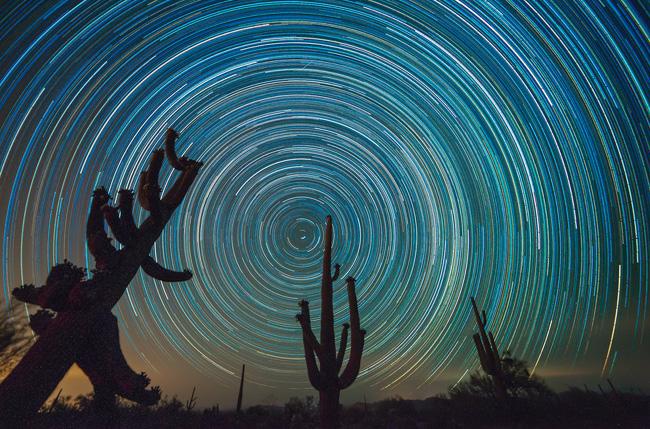 Arizona Night Sky by Don Lawrence