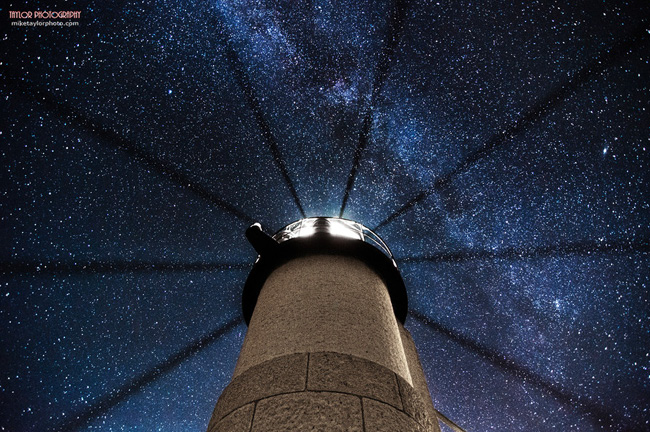 Night Sky in Maine by Mike Taylor