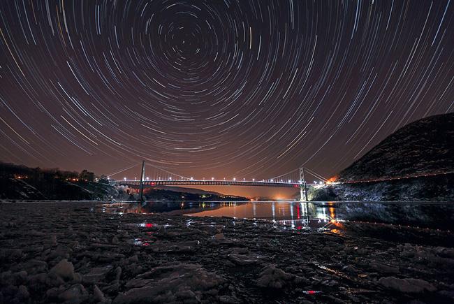New York Sky by Sam Yee