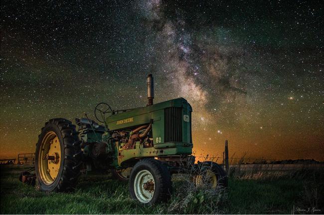 Starry Night in South Dakota by Aaron J Groen