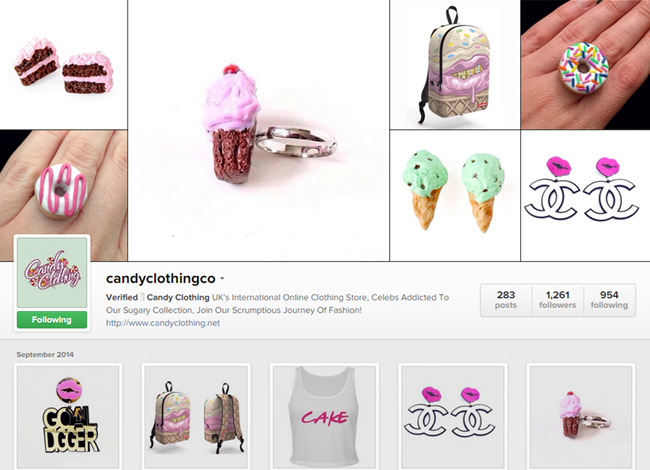 Candy Clothing