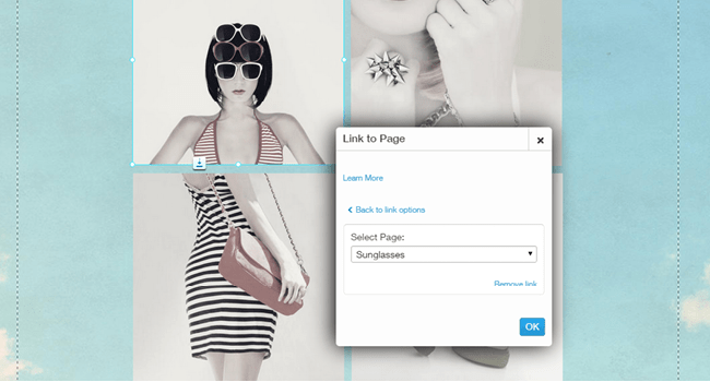 Link Your Image to a Page
