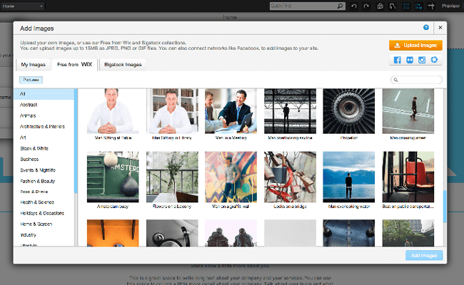 Free Images From Wix