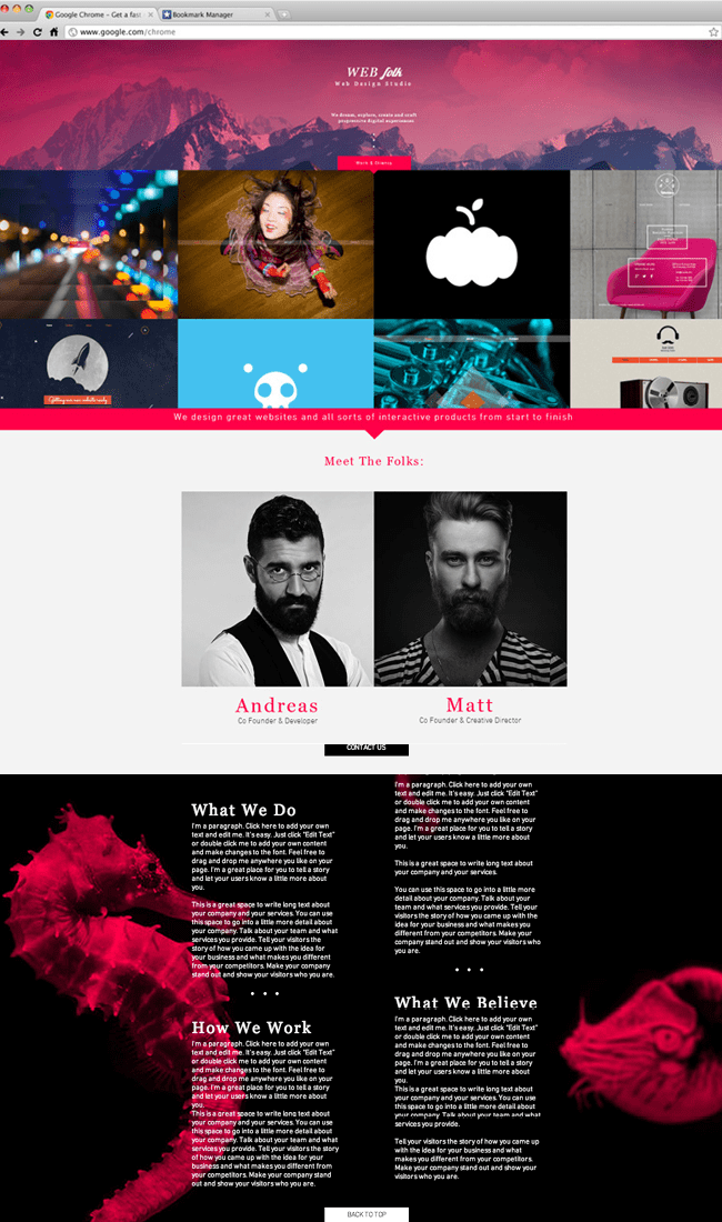 11 Beautiful Websites Created From A Single Wix Template