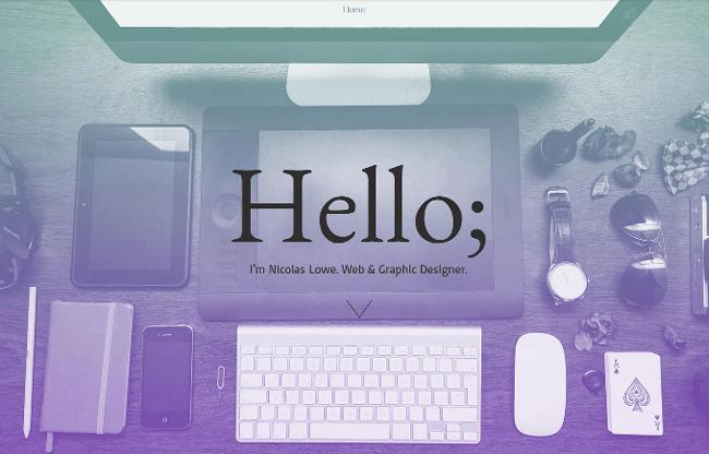 Long Graphic Designer Portfolio