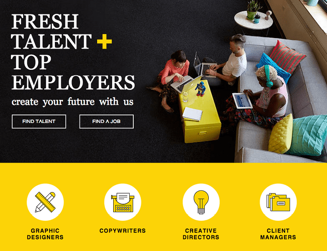 Creative Staffing Agency Wix Template