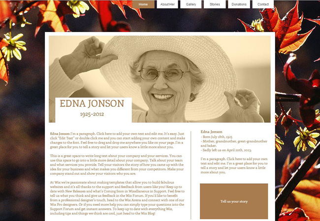 How To Create A Beautiful & Meaningful Memorial Website