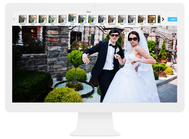The Wix Image Editor