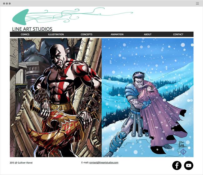 Artists and Illustrators Websites_211