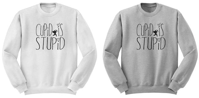 Cupid is Stupid Sweatshirt