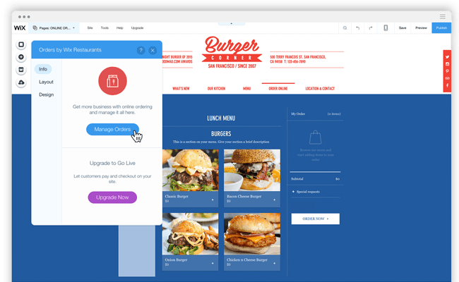Simplify online ordering