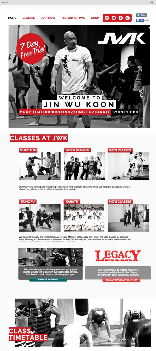 Jin Wu Koon Martial Arts Academy Sydney_site