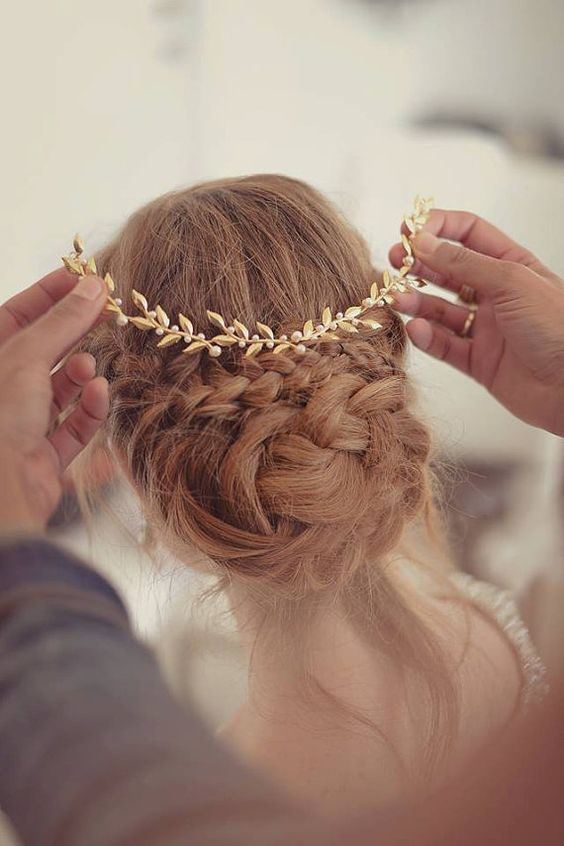 Wedding Hair Crown