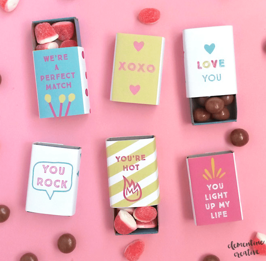 Printable Matchboxes
