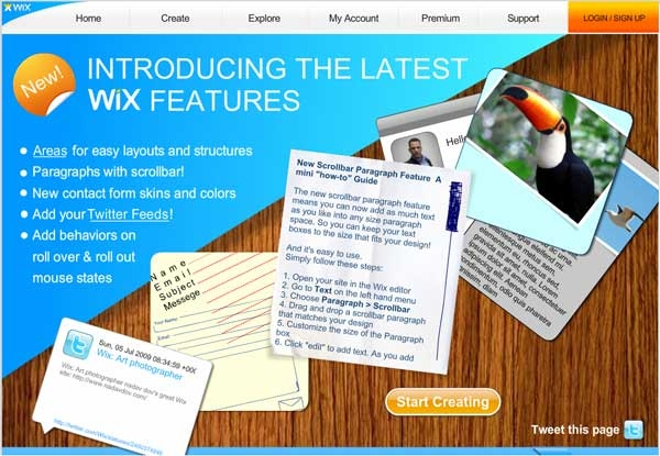 Introducing Latest Features on Wix.com