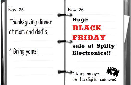Black Friday Wix Ad