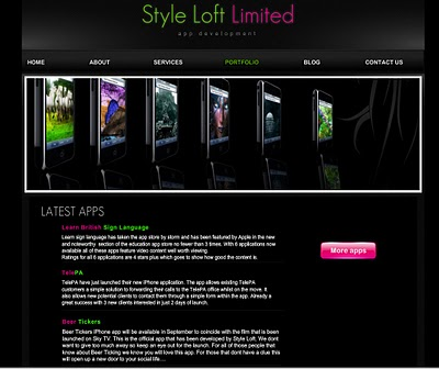 Wix Website Reviews: Style Loft 3