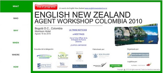 English New Zealand's website was created with a Wix.com Flash template