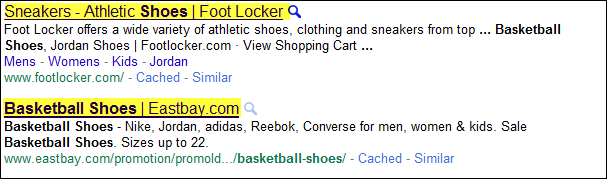 The <Title> Tag in Search Results Tag in Search Results