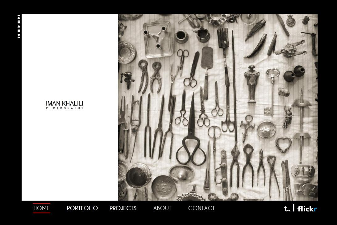 Iman Khalili photography website